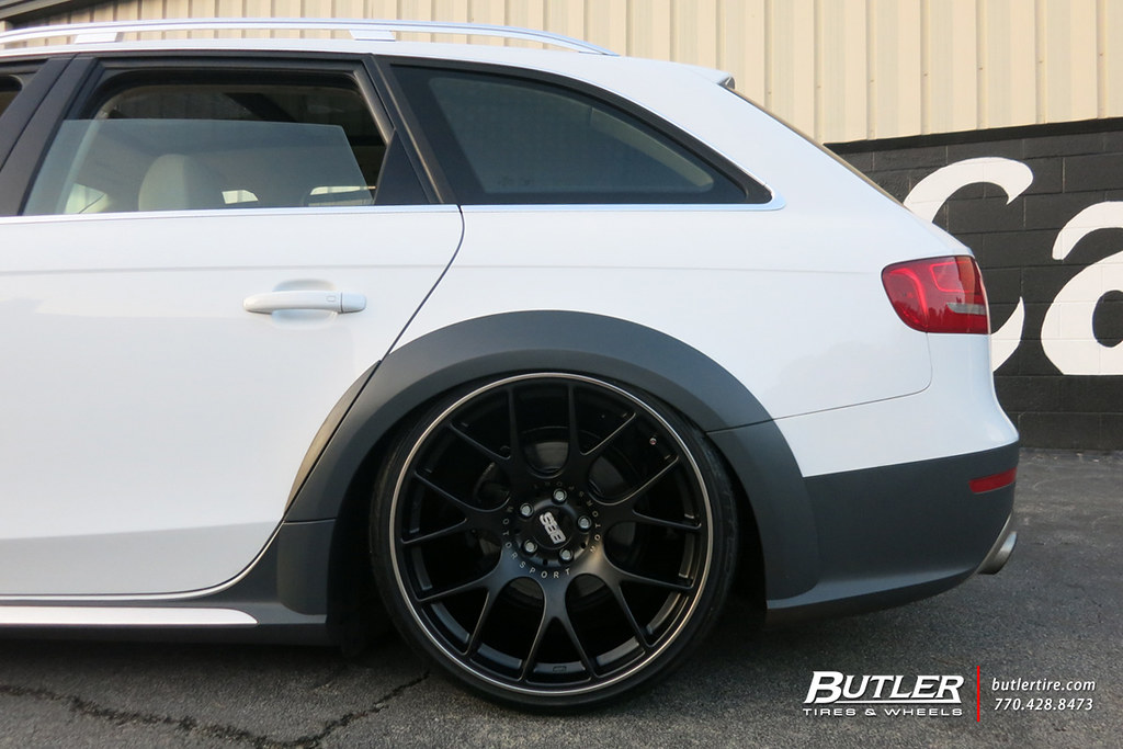 Audi Of Atlanta >> Slammed Audi A6 Allroad with 20in BBS CH-R Wheels and Toyo ...