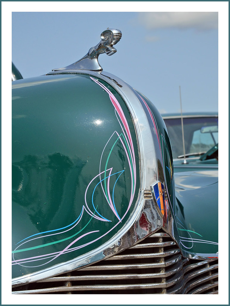 1940 Dodge Street Rod Pinstriping And Ram Mascot The Septe Flickr