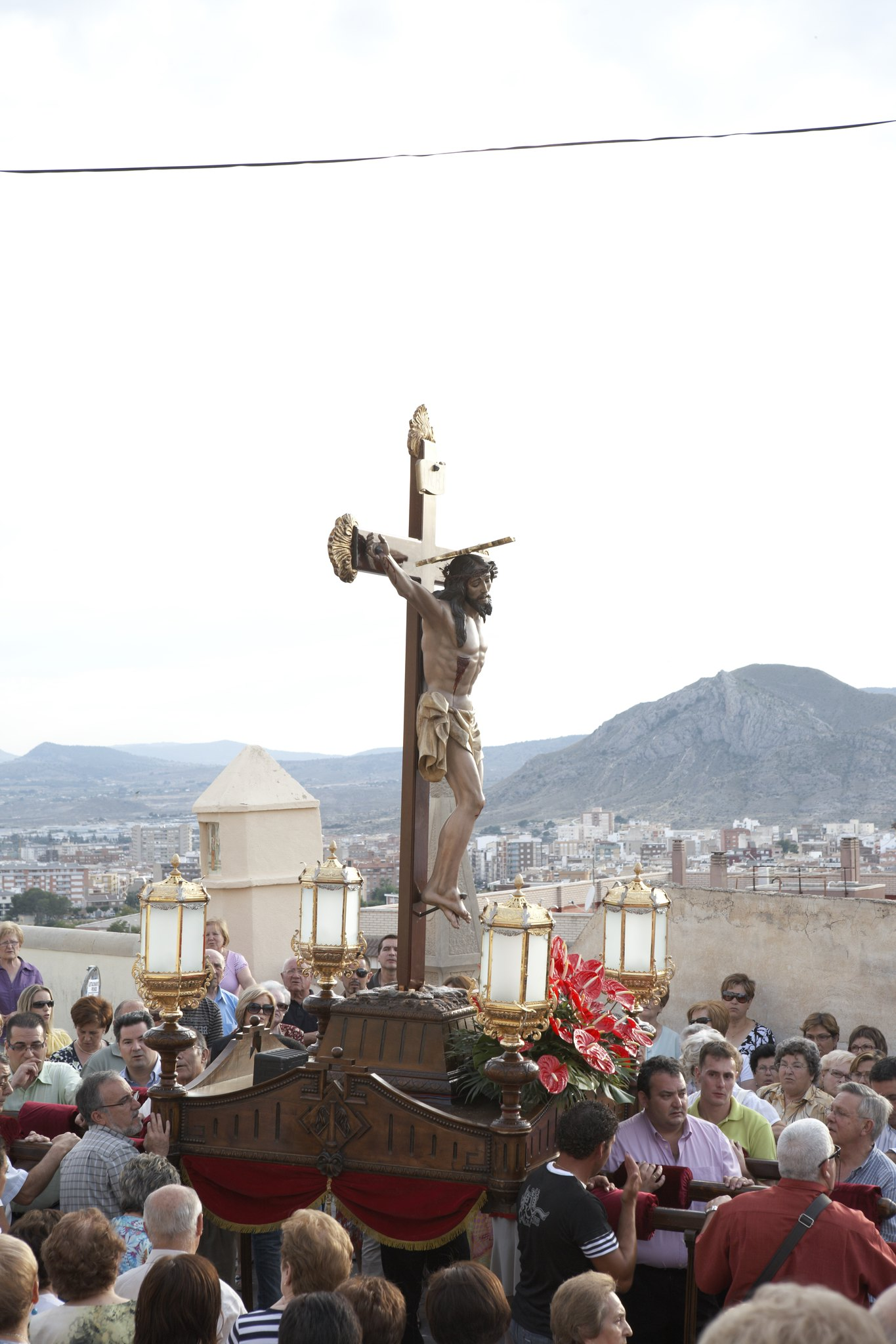 (2010-06-25) Vía Crucis de bajada - Heliodoro Corbí Sirvent (15)