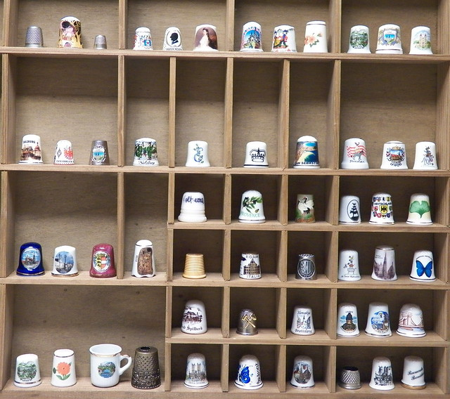 my thimble collection