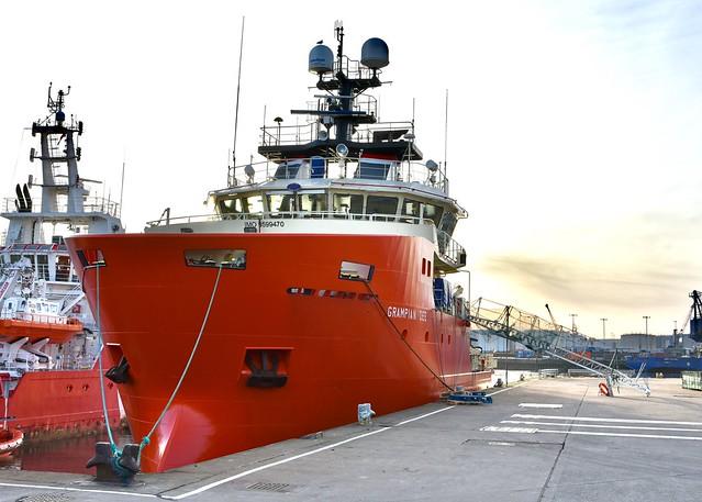 ERRV Grampian Dee - Aberdeen Harbour Scotland 7/1/2018