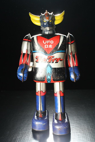 UFO Robot Grendizer Tin Wind-Up ( Popy 1970's ) | by Donald Deveau