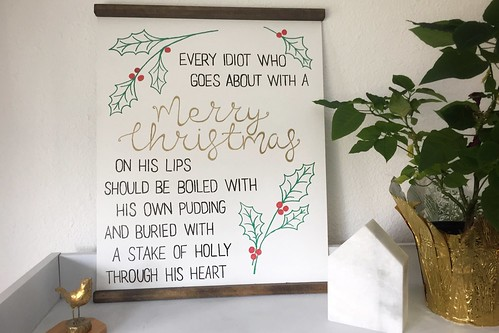 A Christmas Carol Scrooge Quote | by milly and tilly