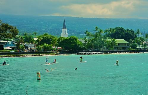 cruise2017 hawaii water paddle board paddleboard swimming ocean snorkel island kona kailua