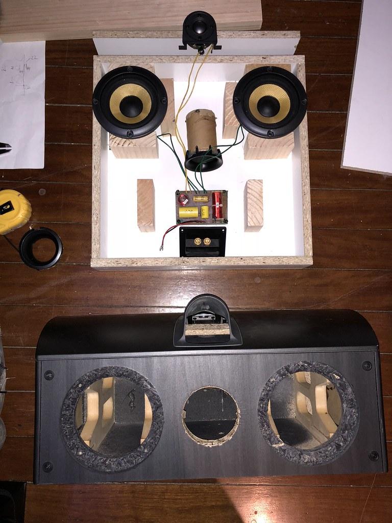 In-wall speaker conversion