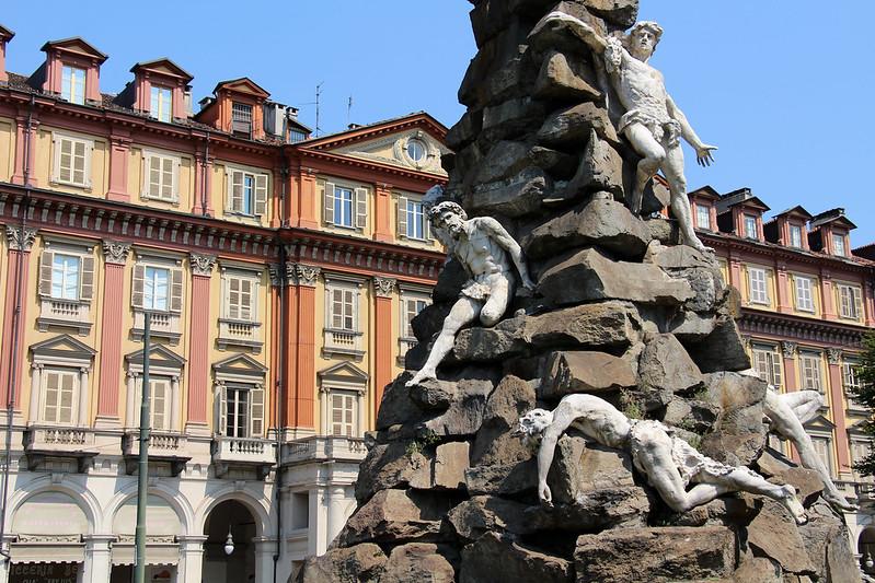 Torino - Monumento al Traforo del Cenisio-Fréjus