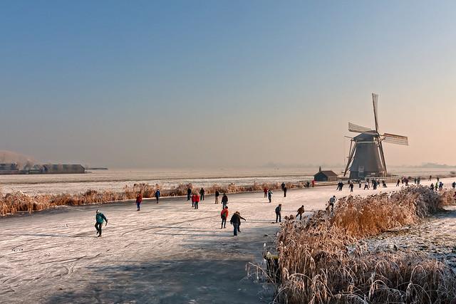 windmill ice skating tour