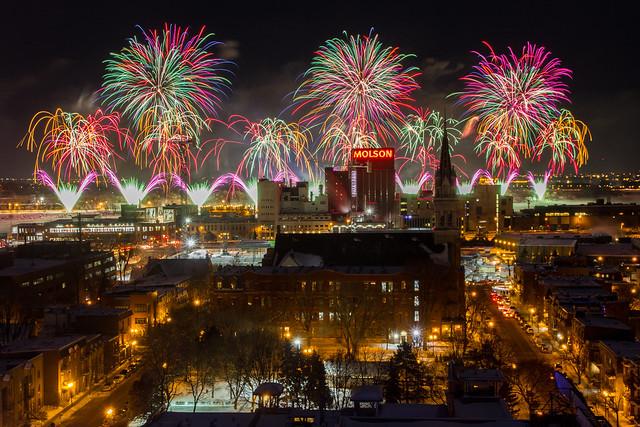 La grande finale (375e anniversaire de Montréal)