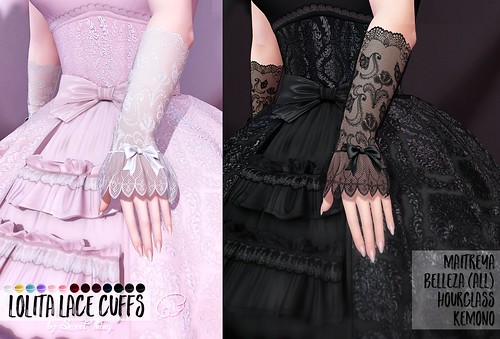 Lolita Lace Cuffs by Sweet Thing. UPDATED | by Sweet Thing.