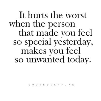 Sad Love Quotes : it hurts the most when the person that m ...