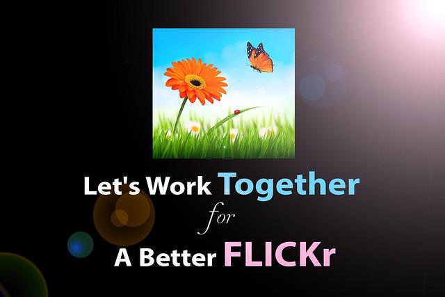 Let's Work Together for A Better FLICKr