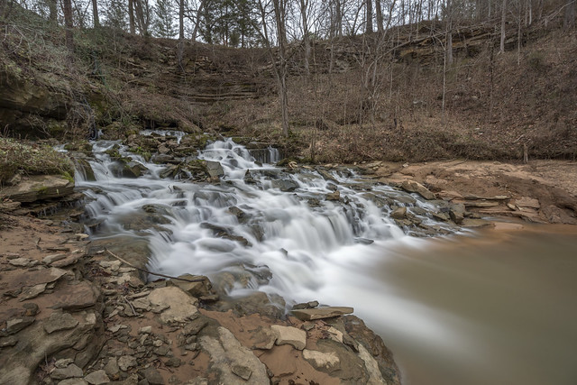 Unnamed falls, White County, Tennessee 1