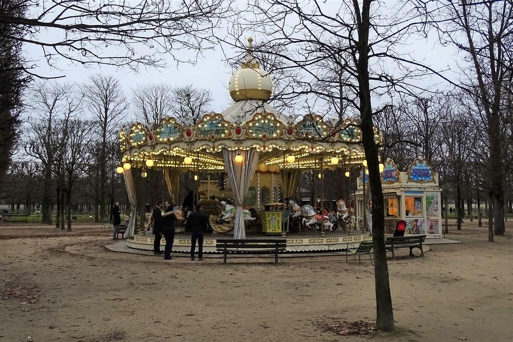 080 Paris Noel 2017 Manege Du Jardin Des Tuileries Odile
