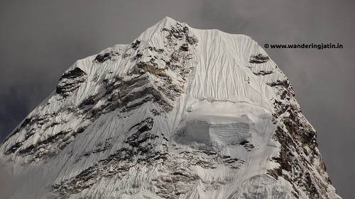 The epic Mt Amadablan   by wanderingjatin