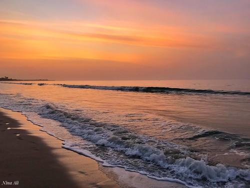 atomospherica calmness peace serenity tranquility beach sunset thegambia ninaali