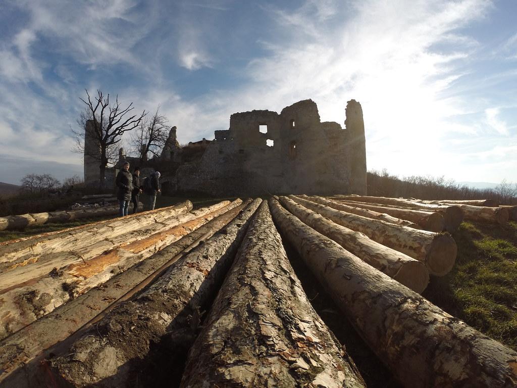 Oponicky hrad (27.12.2017)