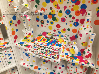 'Typewriter in The Obliteration Room' -- Kusama Exhibit at the Hirshhorn (DC) 2017 | by Ron Cogswell