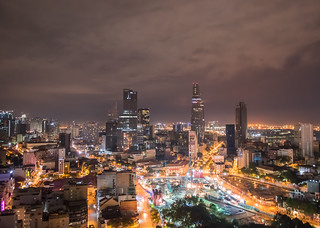 Ho Chi Minh city night | by dronepicr
