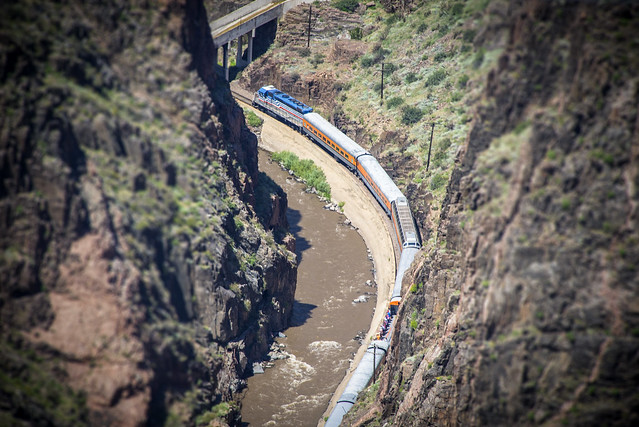 It's not a toy - Royal Gorge Route Railroad - Fremont County - Colorado - USA
