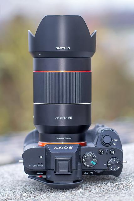 Samyang AF 35mm ƒ/1.4 FE on SONY a7II