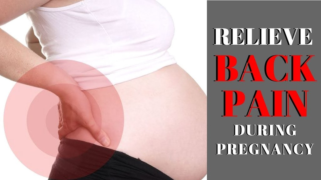 How To Relieve Lower Back Pain During Pregnancy - 7 Tips F