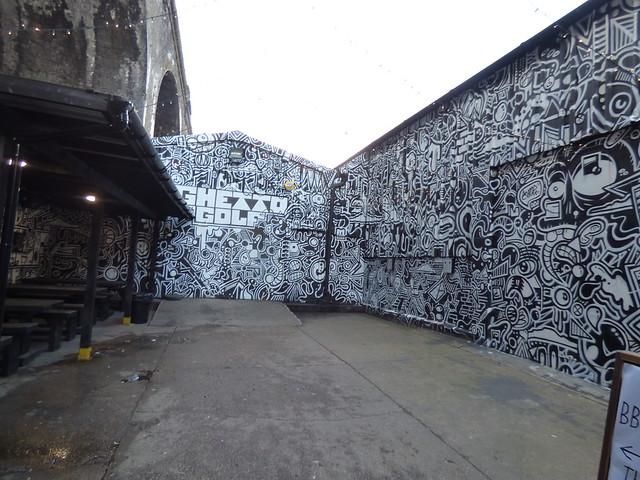 Ghetto Golf - Gibb Street, Digbeth (Custard Factory)