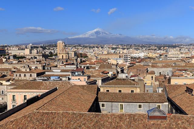 Catania, Italy - Mount Etna @Happy New Year
