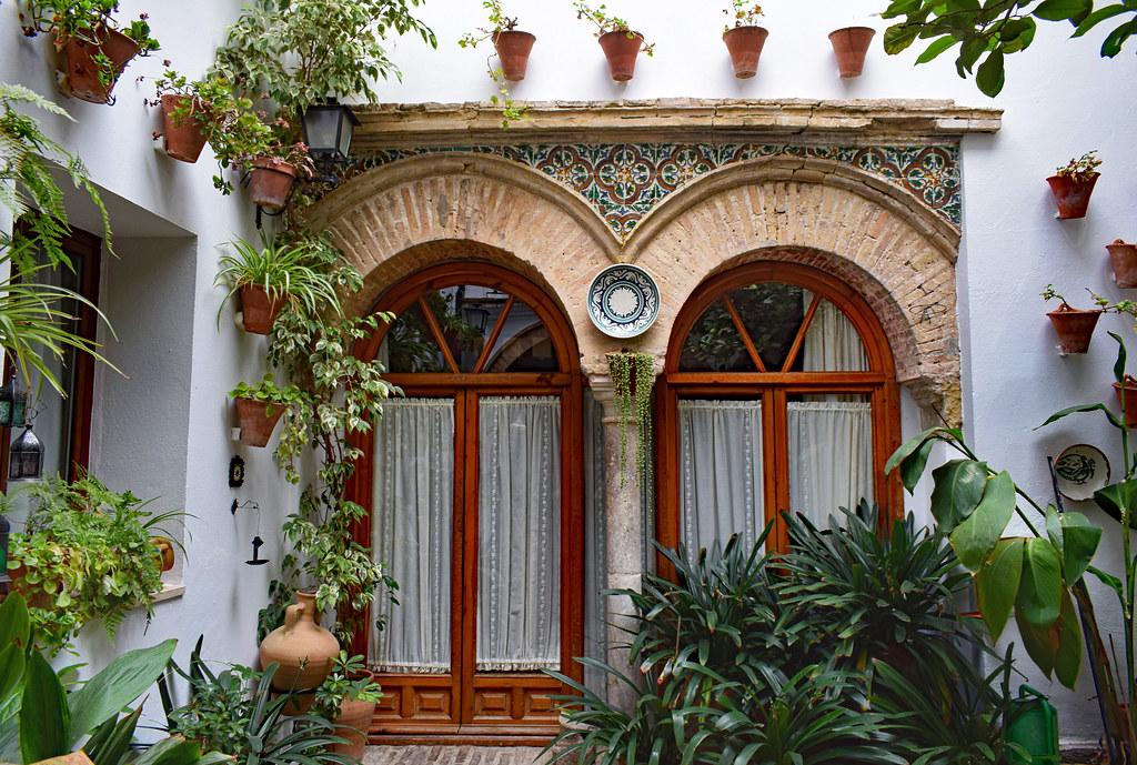 Patio Andaluz A Lovely Hidden Patio Behind A Shop In Cordo