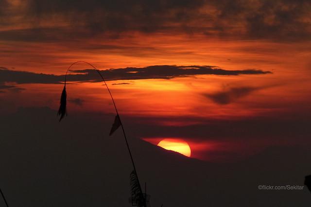 Sunset from Munduk, Bali