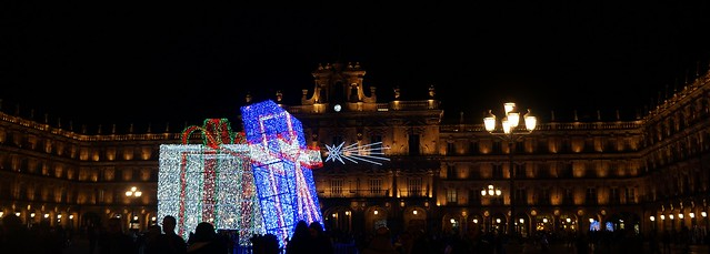 Salamanca. El regalo se salió del paquete. (explore 22.12.2017)