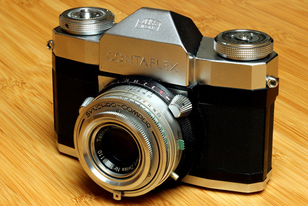 Zeiss Ikon Contaflex III | I have created a new Flickr group