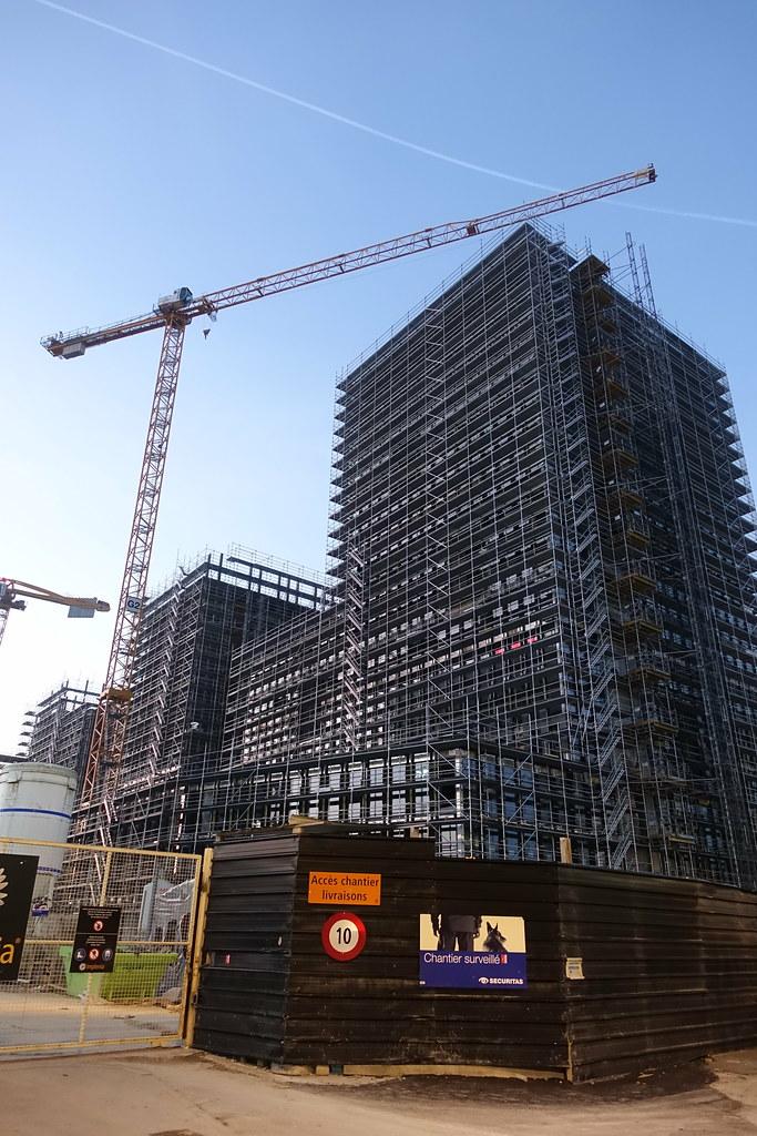 Construction At Pont Rouge At Near Pr Etoile At Geneva Flickr