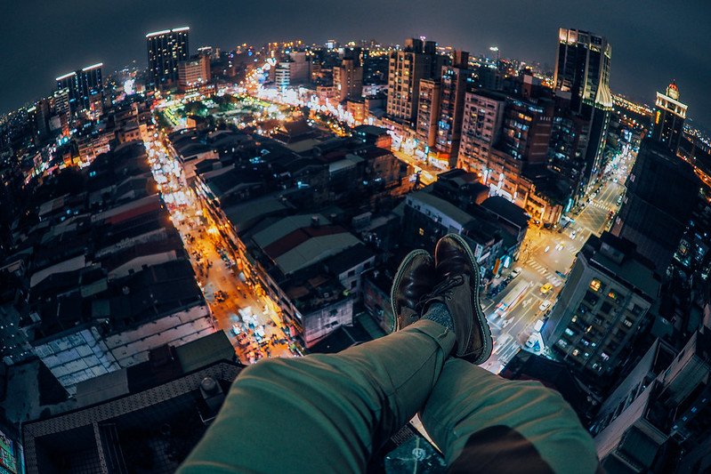 屋頂上的快活|萬華秘密基地