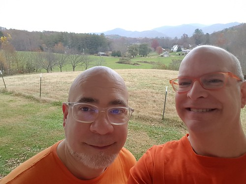 prison orange us mamluke mrsmamluke valley batesbranch northcarolina nc mountains eyeglasses glasses view autumn fall mountain appalachians appalachianmountains