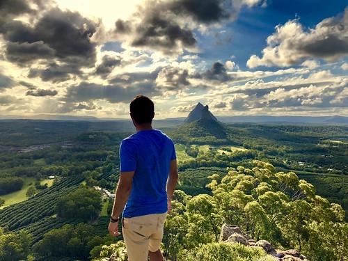 sunshinecoast queensland nature mountains view hiking iphone iphonex australia