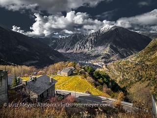 Andorra camis & rutes: Andorra city, the center, Andorra