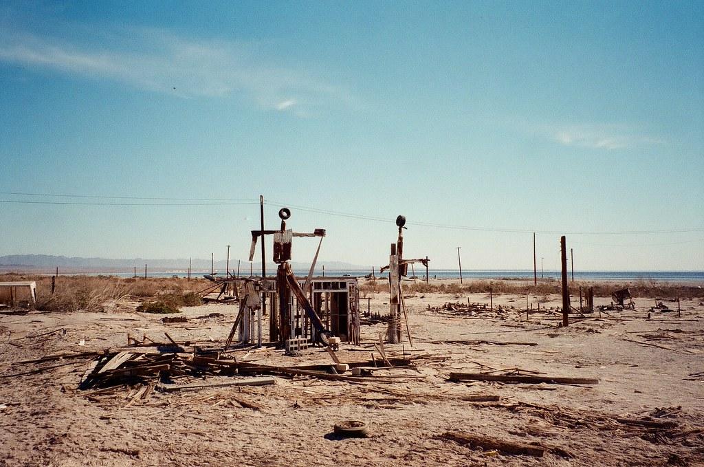 Desert towns in California