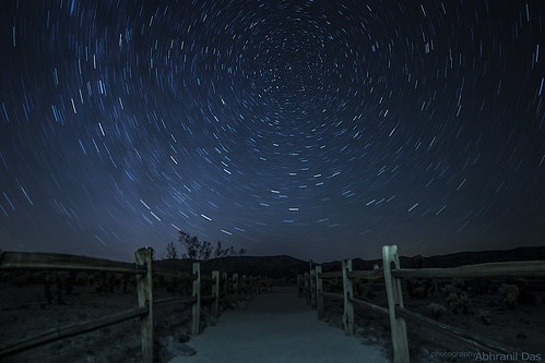 Joshua Tree Star Trails | by Abhranil Das