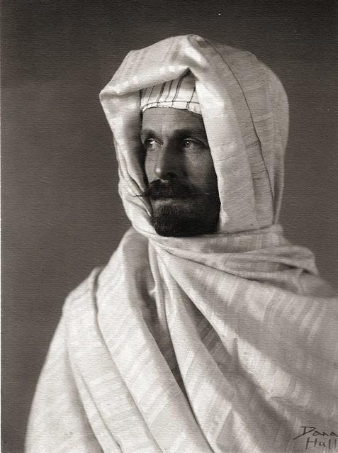 Burton Holmes in Moroccan Costume, 1894