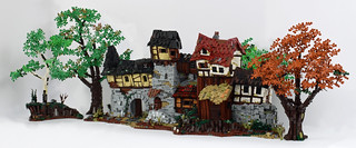 The Front - Fantasy medieval like house front - Lego MOC | by ranghaal