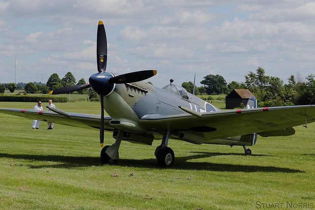 Seafire LF.III PP972 G-BUAR - Air Leasing Limited