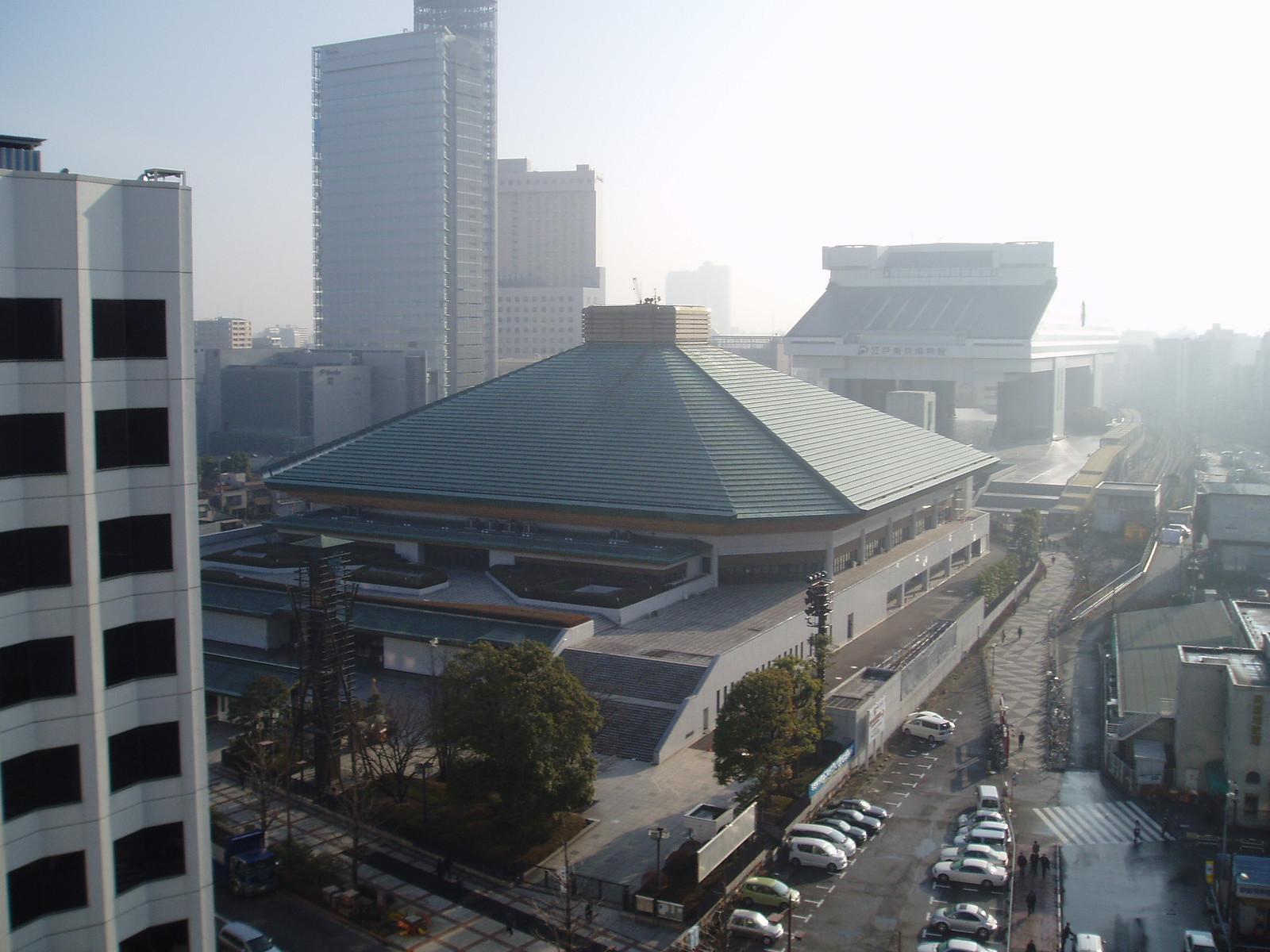 National Sumo Stadium, Ryogoku, Tokyo