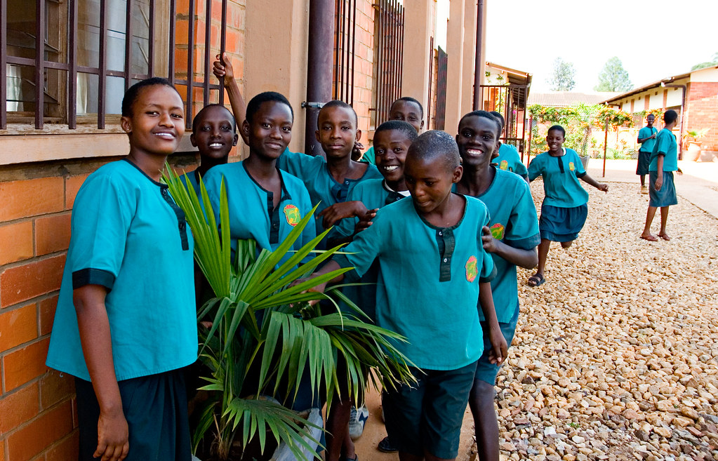 Children at Kigali deaf-school | As soon as I picked up my c… | Flickr
