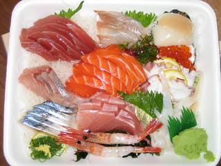 Sashimi Dinner from J-Town