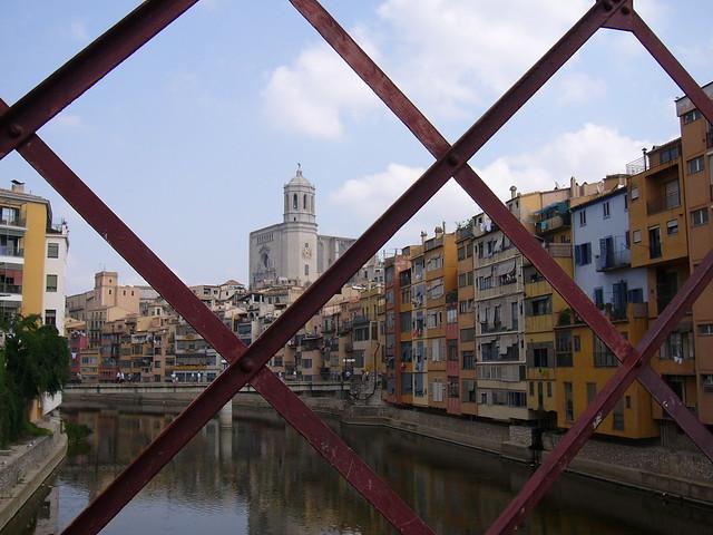 From Eiffel's bridge, Girona