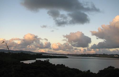 ocean sunset clouds islands day cloudy palau koror republicofpalau beluuerabelau ngerkebesangisland
