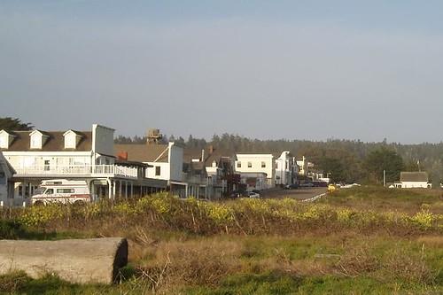 Mendocino village