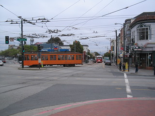 Castro and Market: Street Cars on line F | by marcomazzei