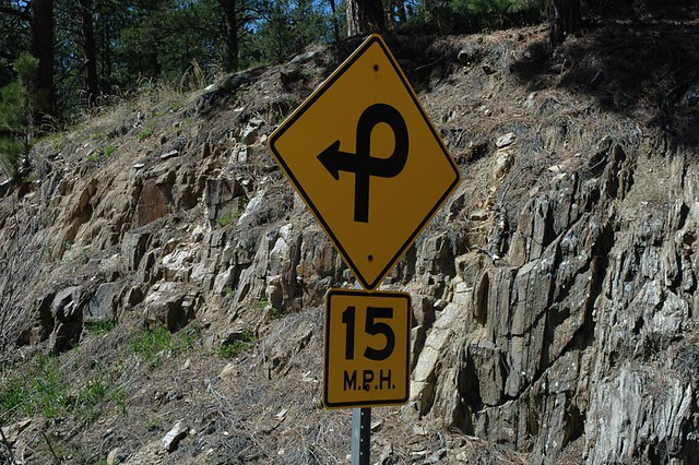 Pigtail Bridge Road Sign, Black Hills, South Dakota