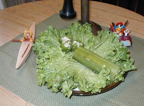 Chilled Celery Log